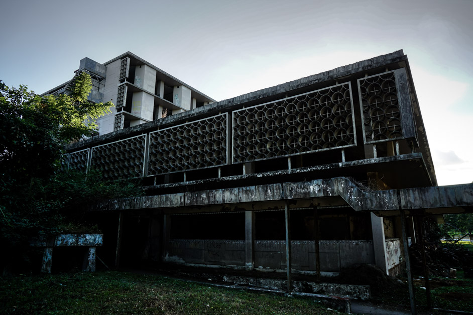 Clark Airbase Hospital, most haunted places in the Philippines.