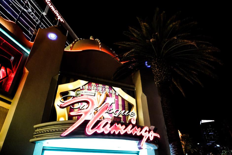 Las Vegas Flamingo haunted casino.