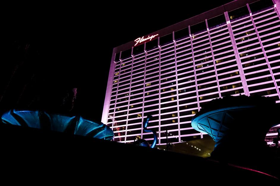 Flamingo Hotel in Vegas.