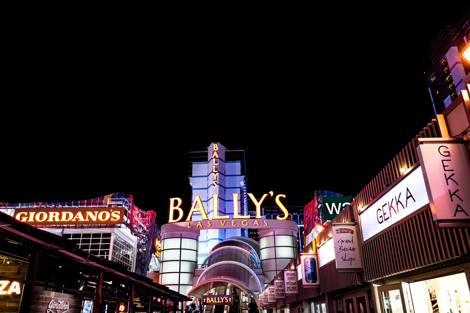 Haunted Bally's.