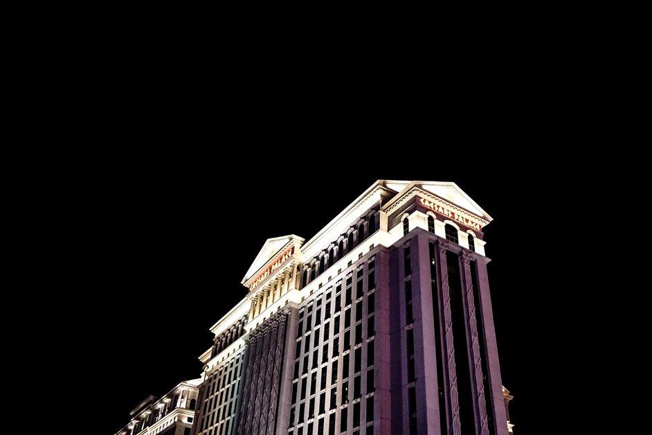 Haunted Caesar's Palace in Vegas.