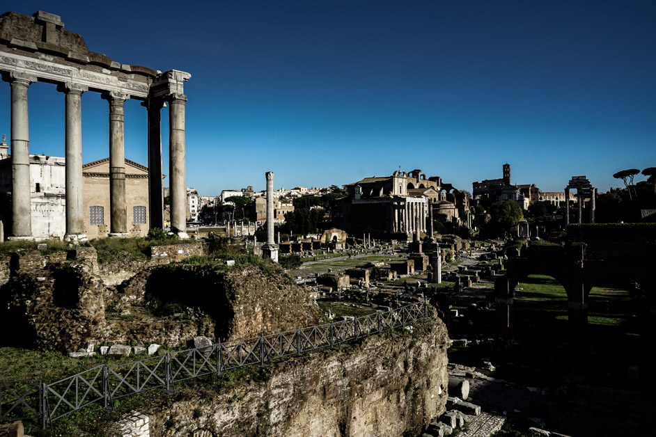 Haunted Roman Forum.