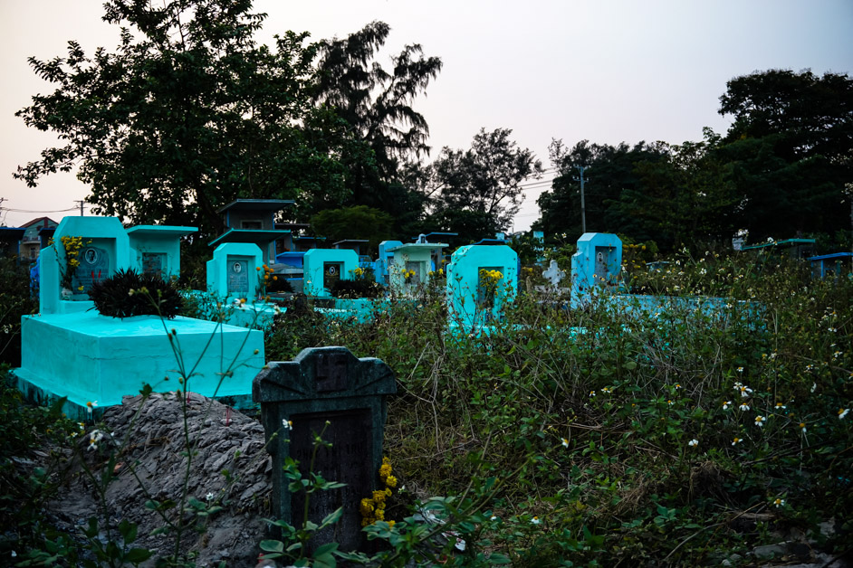 Binh Hung Hoa Cemetery.