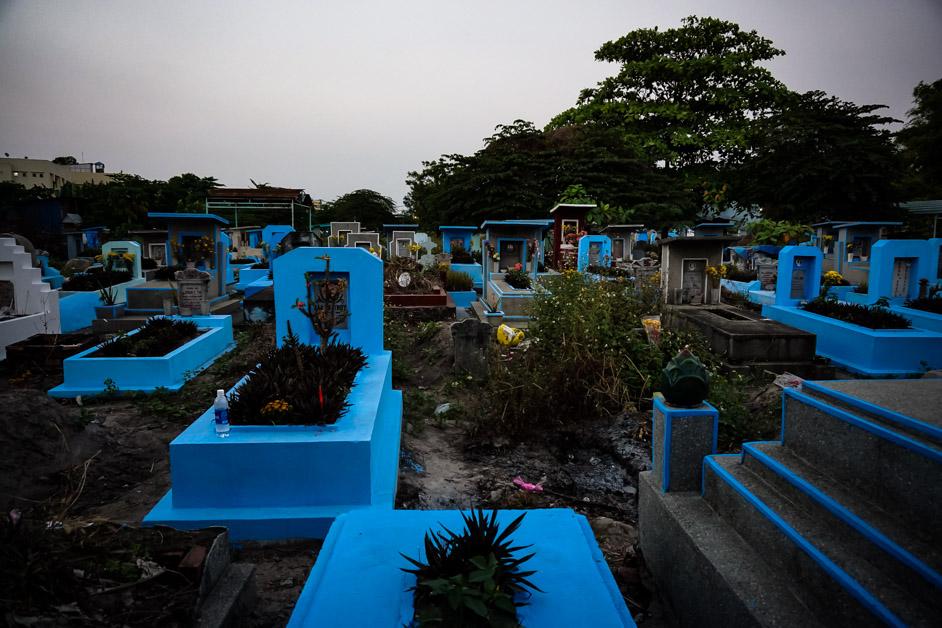 Ho Chi Minh City cemetery.