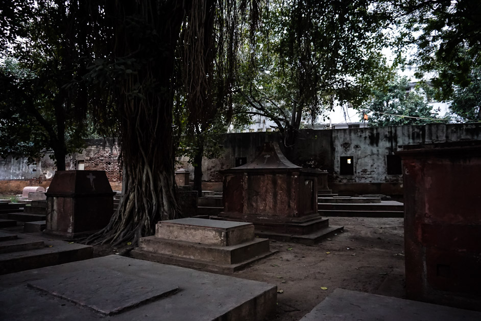 Lothian Cemetery in Delhi, India.