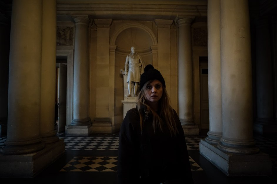 Ghost hunting in the Palace of Versailles.