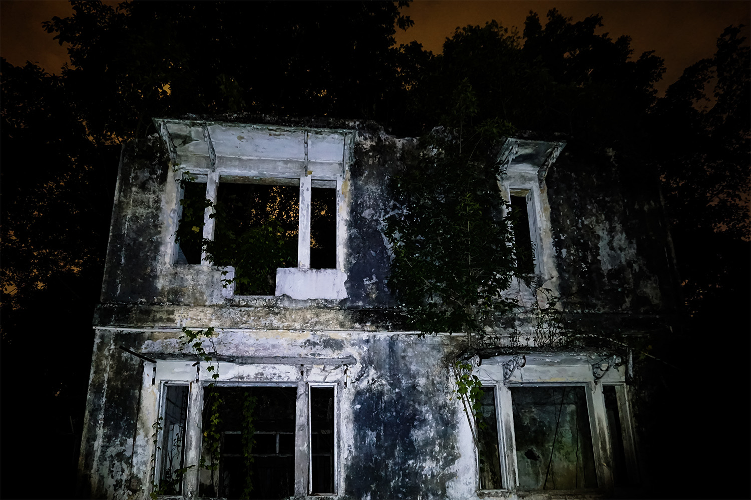 Haunted mansion in Malaysia.