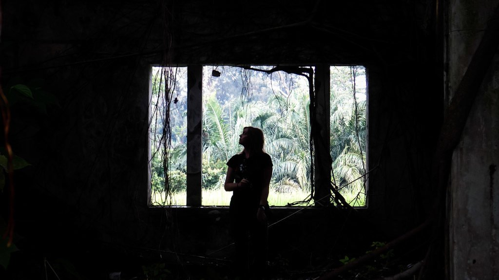 Overgrown abandoned mansion in Malaysia.