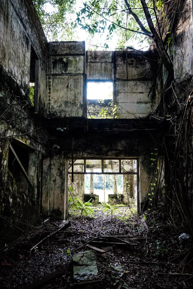 Bukit Tunku abandoned mansion.