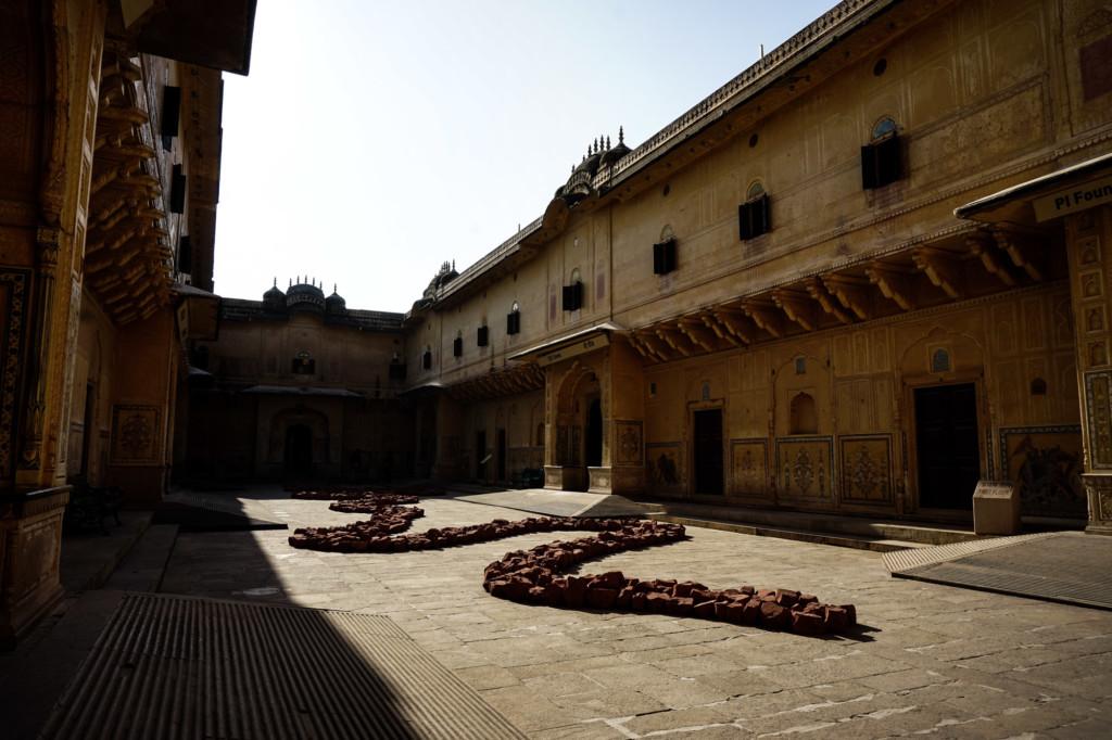 Haunted fort in Jaipur, India.