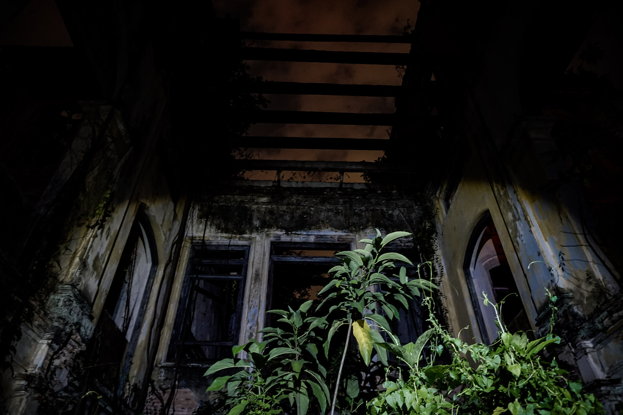 Haunted and abandoned school in Malaysia.
