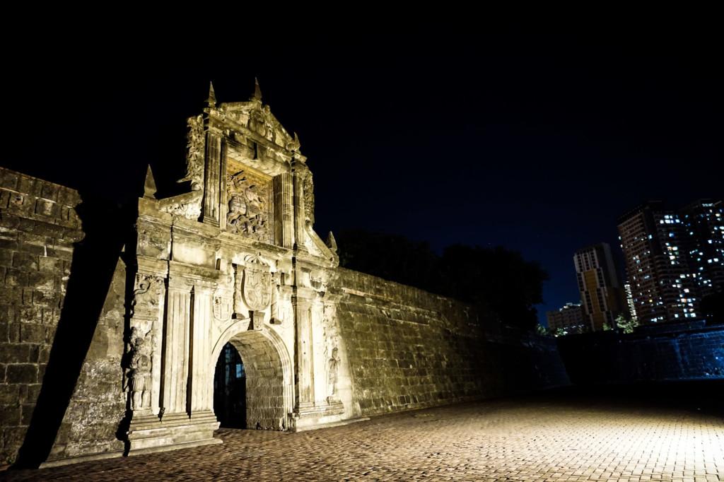 Haunted fort in Manilla, Philippines.