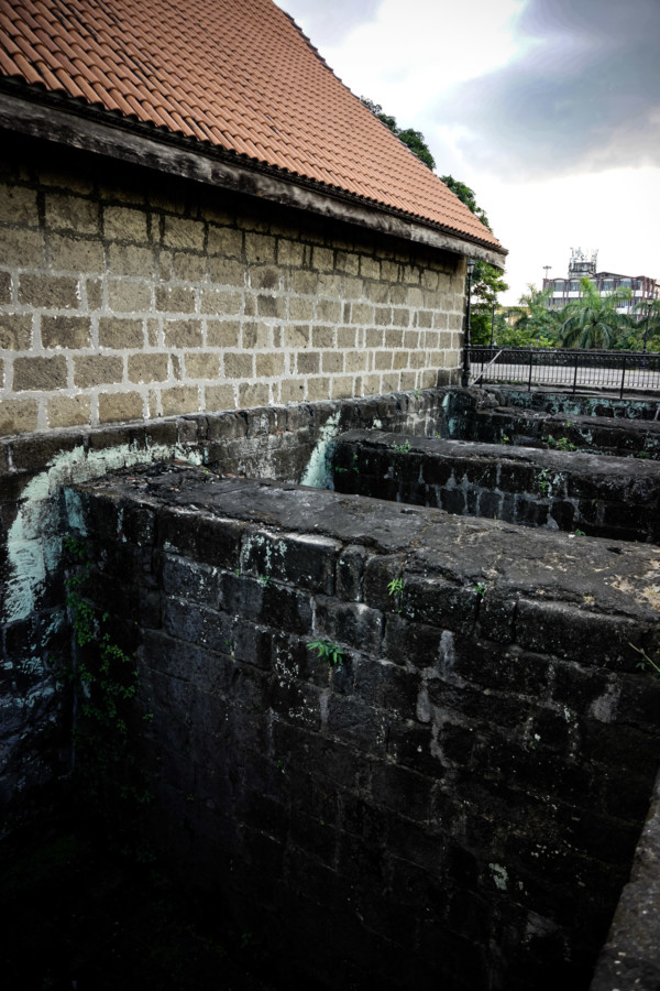 Fort Santiago prison cells in Manila.