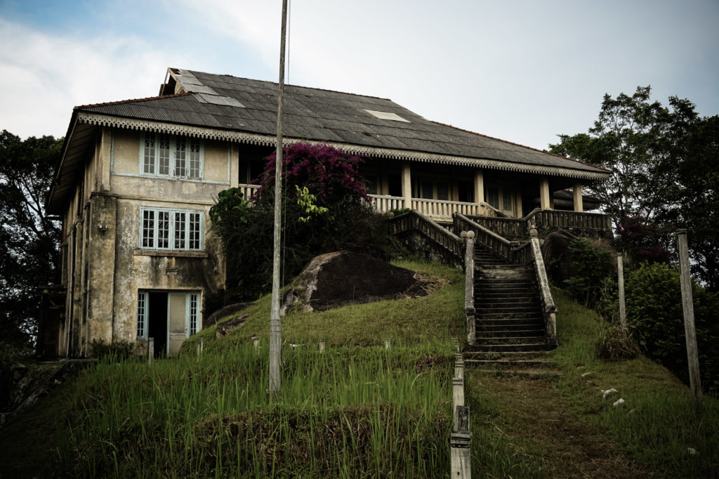 Crag Hotel in Malaysia, abandoned.