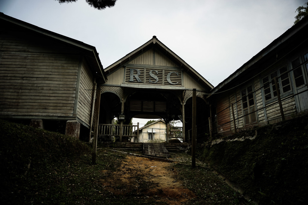 Abandoned former school on Penang Hill.