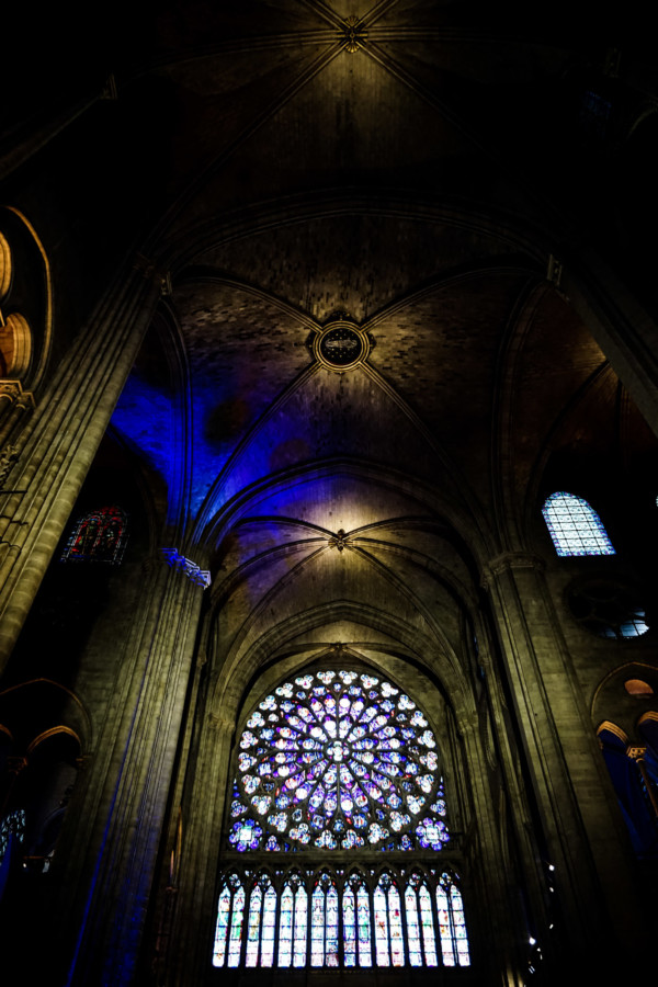 Notre Dame haunted place in Paris.