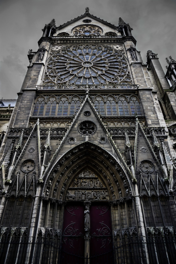 Notre Dame Cathedral before fire.