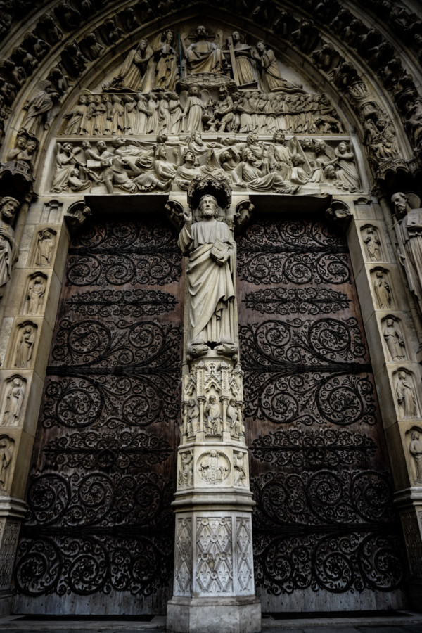 Notre Dame Cathedral doors