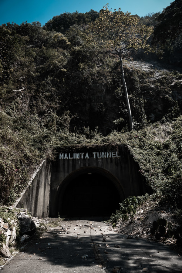 Malinta Tunnel entrance.