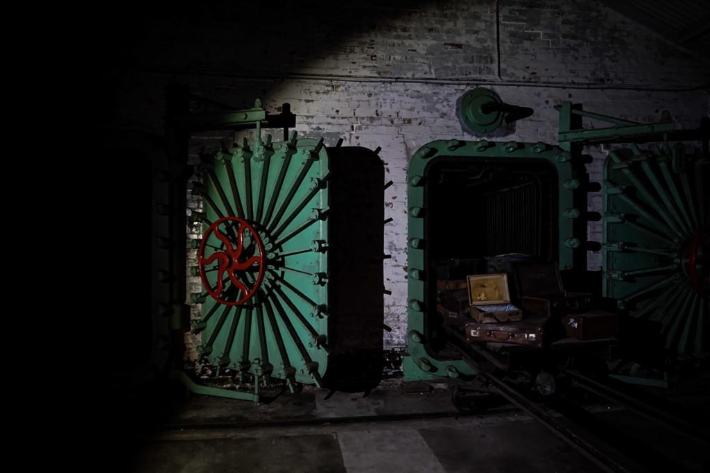 Q Station disinfectant chamber.