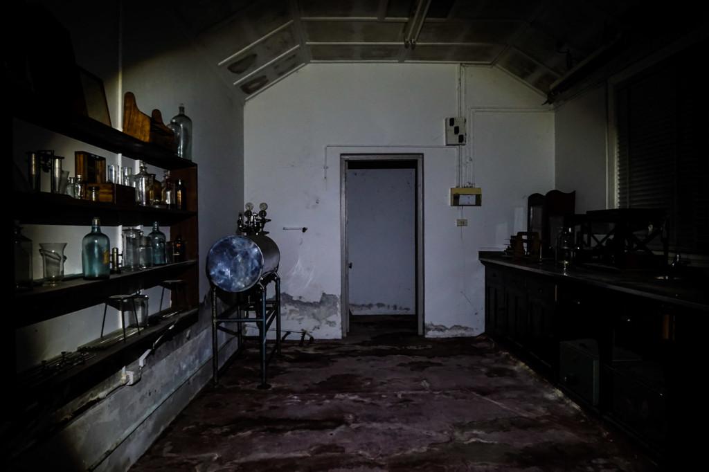 Q Station morgue.