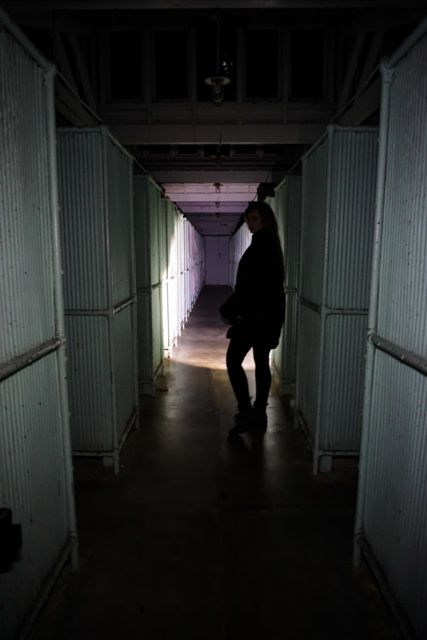 Haunted Shower Block at Sydney Quarantine Station.