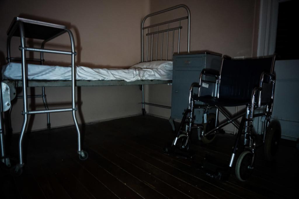 Haunted hospital of Sydney Quarantine Station.