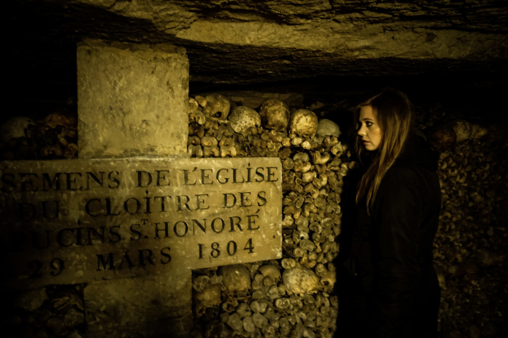 The Paris Catacombs is a massive underground cemetery.