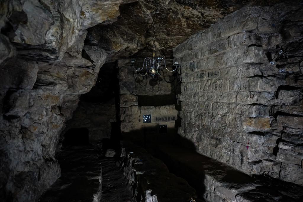 Paris Catacombs bar.