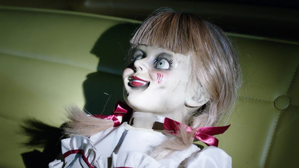 Annabelle Doll in the new Annabelle Comes Home film.