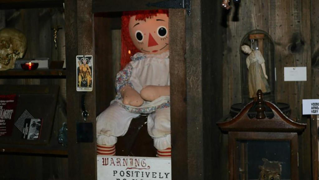 The real Annabelle Doll.