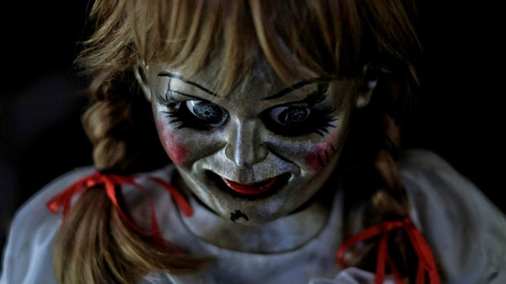 Annabelle Doll in Annabelle Comes Home.