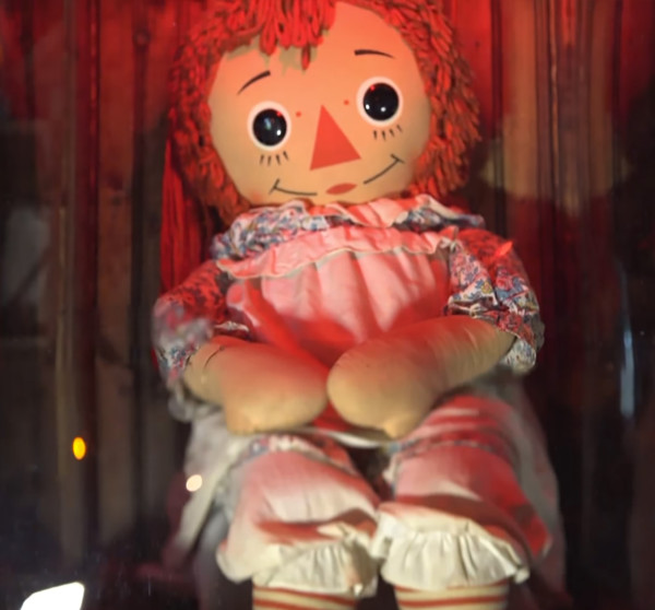 Real Annabelle doll.