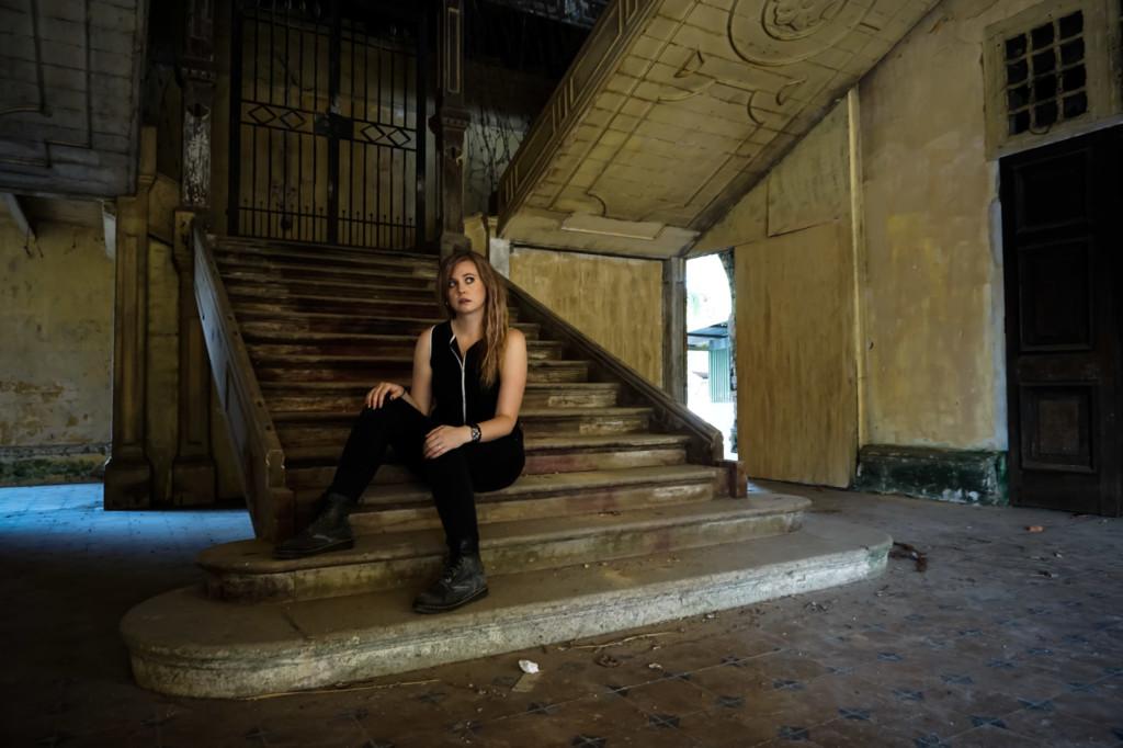 Inside the haunted 99 Door Mansion.