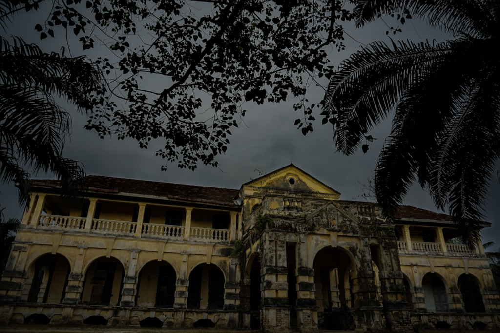 Haunted and abandoned 99 Door Mansion, Malaysia.