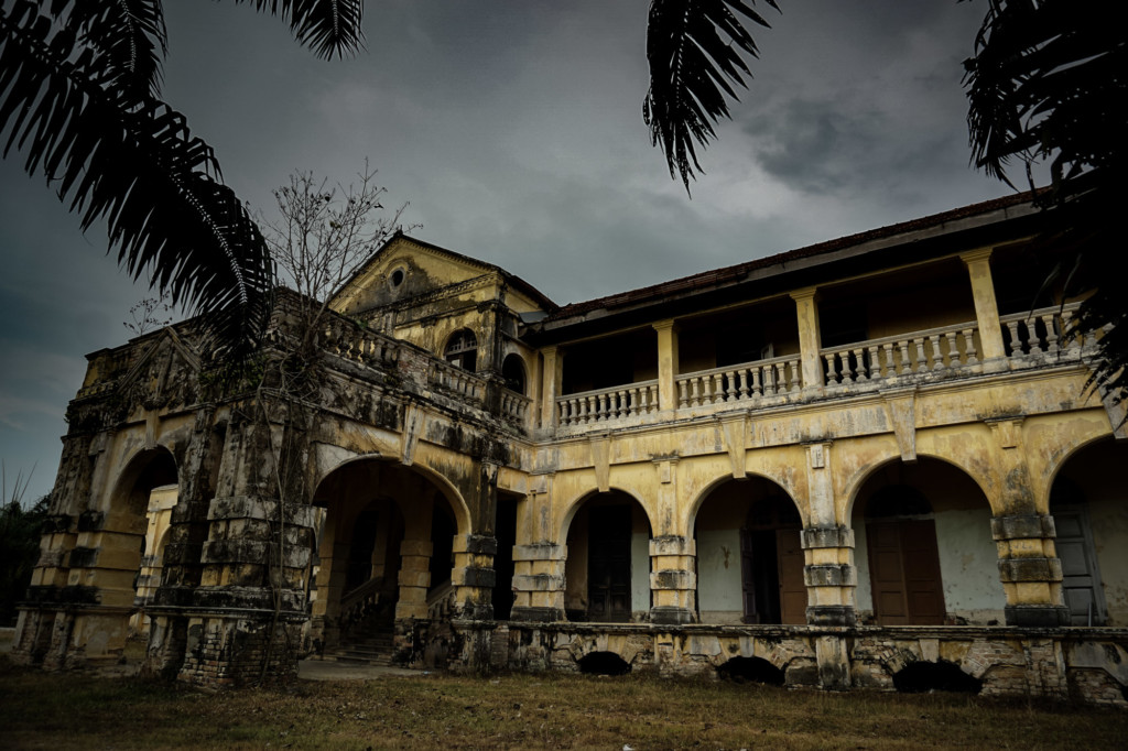 Haunted 99 Door Mansion in Penang, Malaysia.