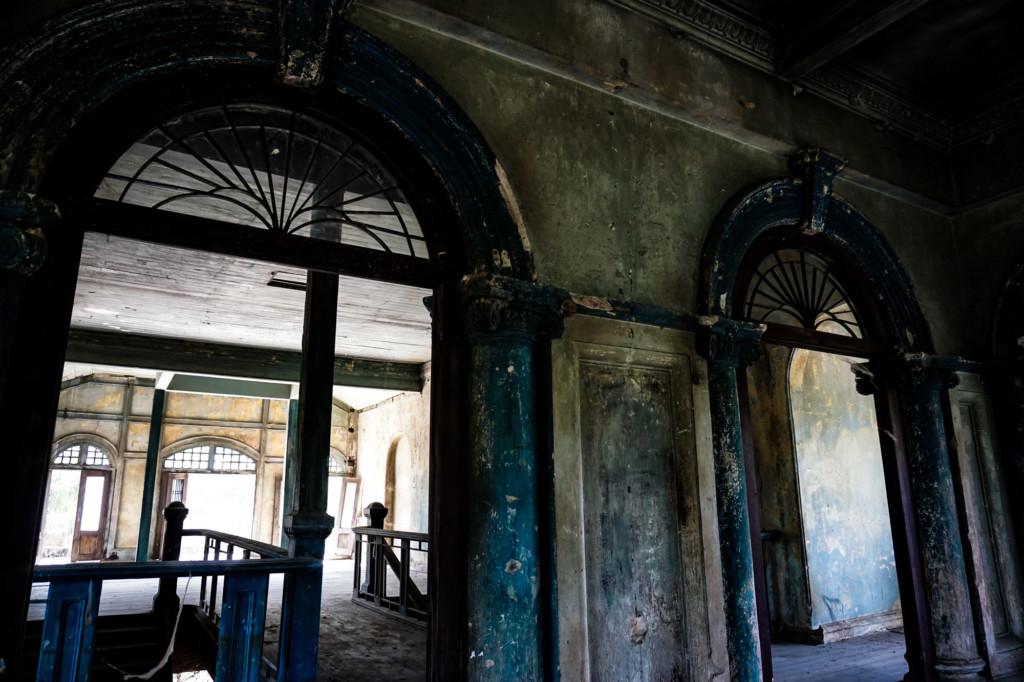 Rotting 99 Door Mansion in Penang, Malaysia.