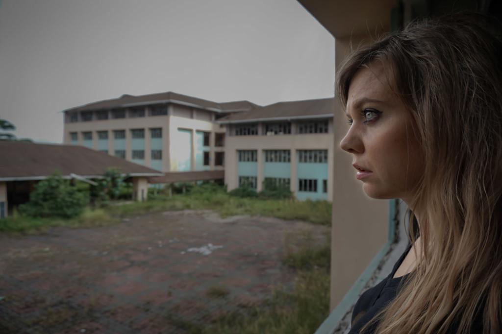 Abandoned school in Kuala Lumpur.