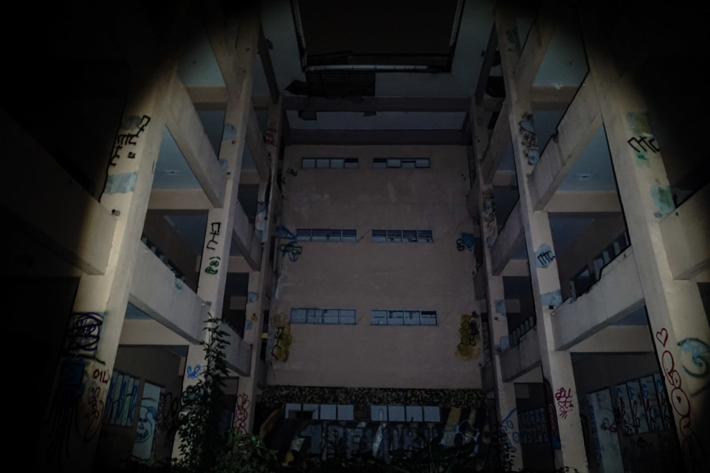 SK Danau Perdana haunted abandoned school in Malaysia.