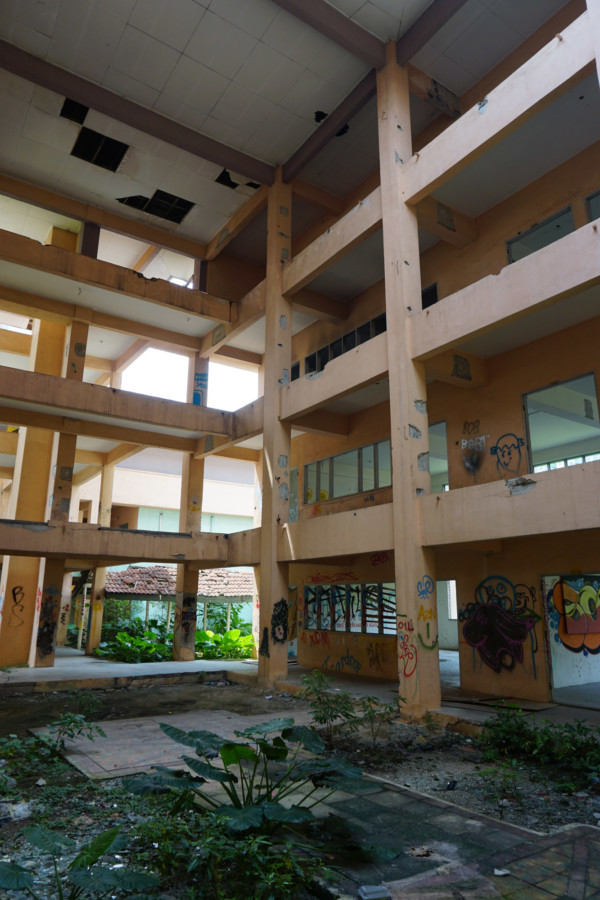 Abandoned school haunted by a Pontianak.