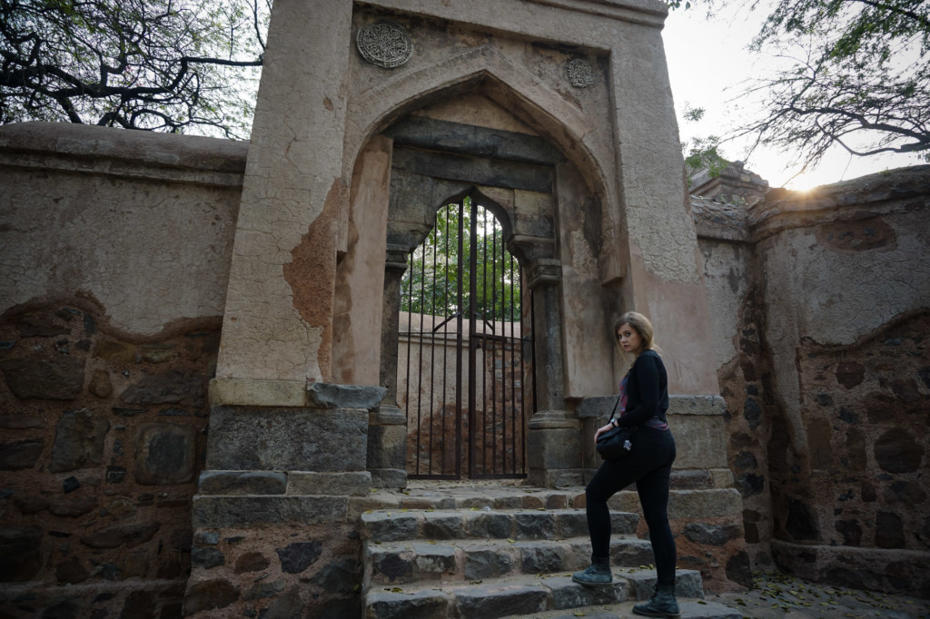 Exploring haunted places of Delhi, India.