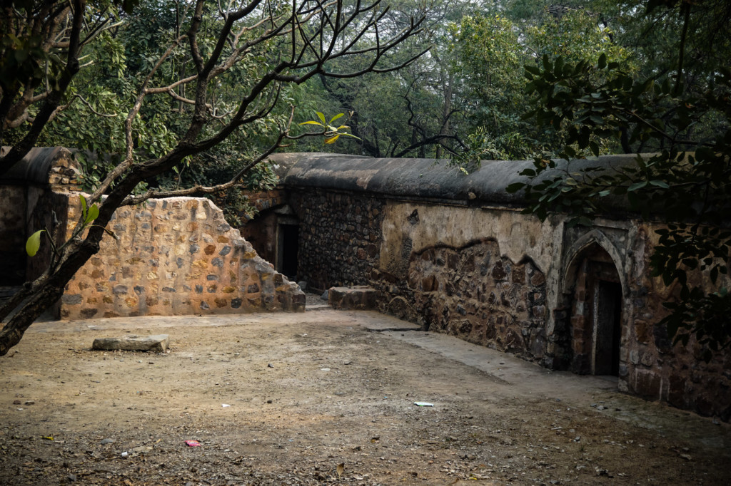 One of Delhi's most haunted places, Bhuli Bhatiyari.