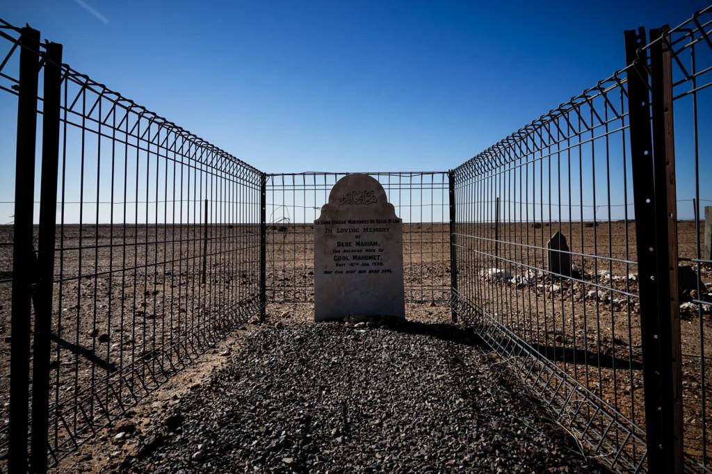 Miriam Bebe gravesite, Farina.