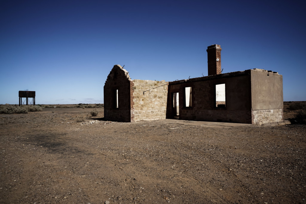 South Australian Ghost Town Farina.