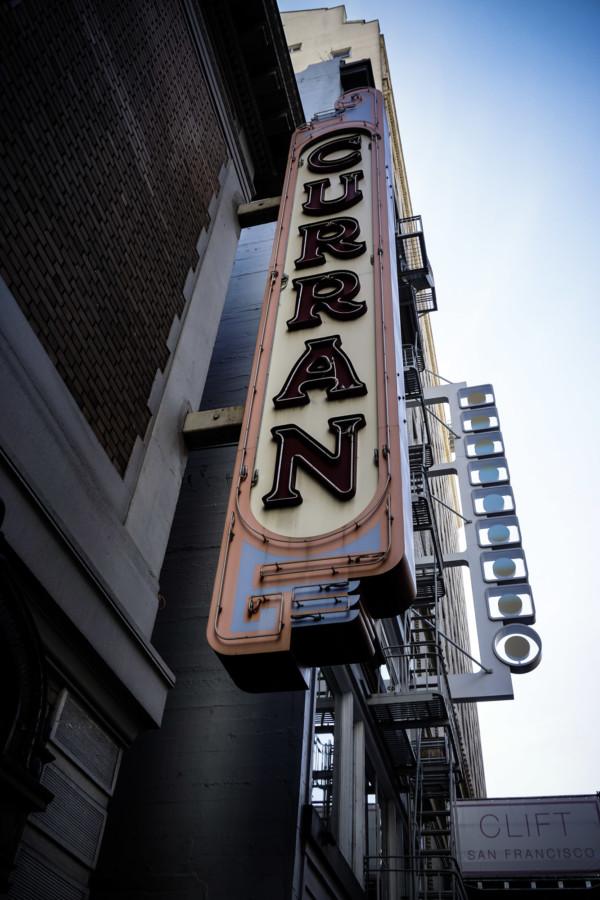 Curran Theater San Francisco.
