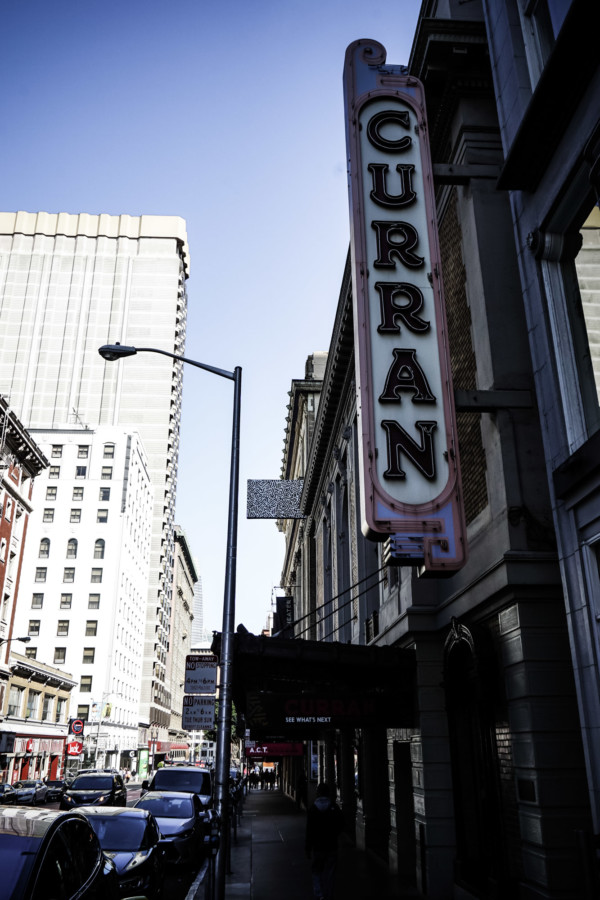 Curran Theater haunted.