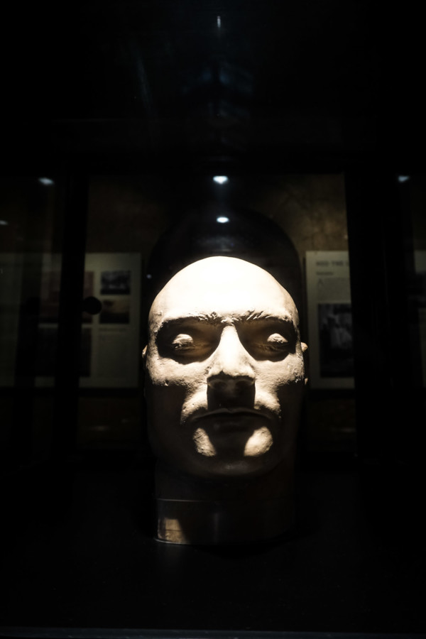 Death mask of Ned Kelly.