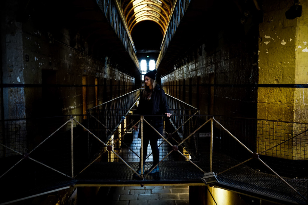 Haunted Old Melbourne Gaol.