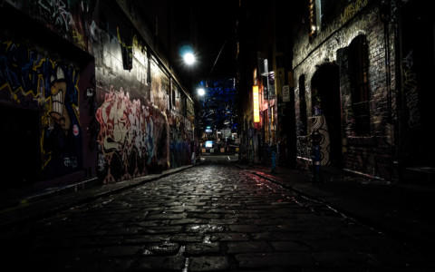 Jack the Ripper's Ghost: Haunting of Hosier Lane, Melbourne