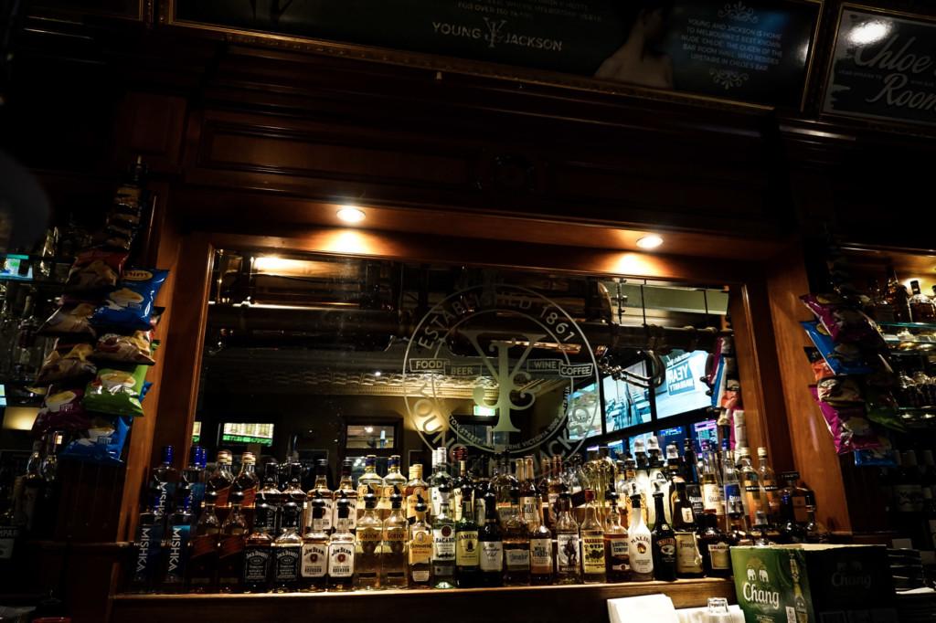 Young & Jackson Bar.